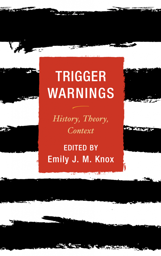 Trigger Warnings Book cover
